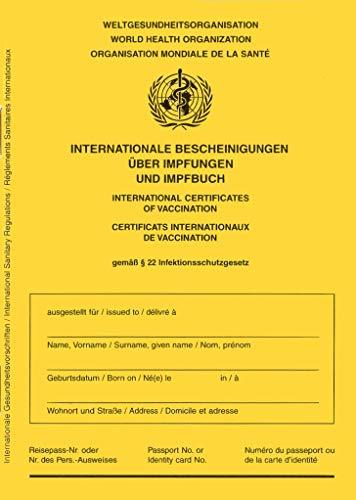 Impfausweis/Impfpass/Impfbuch - Ausgabe 2021 - internationale Bescheinigung über Impfungen für Babys, Kinder, Jugendliche, Erwachsene mit extra Covid-19 Seite