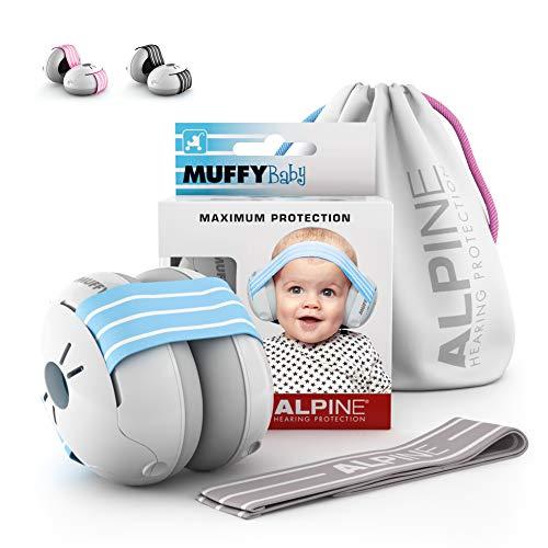 Alpine Muffy Baby kuulonsuojaimet vauvoille ja alle 36 kuukauden ikäisille taaperoille - melusuoja estää kuulovaurioita - parantaa unta ...