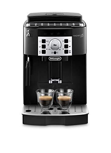 De'Longhi Magnifica S ECAM 22.110.B – Kaffeevollautomat mit Milchaufschäumdüse, Direktwahltasten & Drehregler, 2-Tassen-Funktion, großer 1,8 l Wassertank, 35,1...