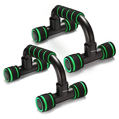 Adkwse Liegestützgriffe,2er-Set Push-Up Bars Professional Liegestütz Griff mit Rutschfestem,Komfort-Schaumstoff-Griff für Zuhause und Fitnessstudio Krafttraining...