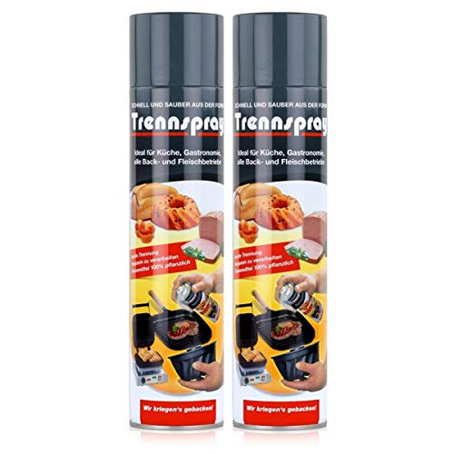boyens Trennspray Trennspray, Transparent, 600 ml (2er Pack), 1200