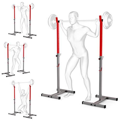 K-Sport: Langhantelablage bis 180kg I Squat-Rack für Langhanteltraining I Hantel-Ablage zum effektiven Muskeltraining I Kniebeugenständer I Professionelle...