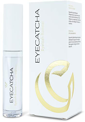 Eyecatcha eyelash serum for longer eyelashes - 3ml, eyelash serum test winner 2020, top eyelash growth, eyelash booster hormone-free with Black Sea Rod Oil
