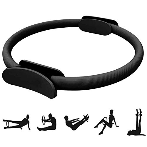 Yoga Pilates Ringe Gymnastik Widerstands Circle Krafttraining Fitness Ring Doppelgriff Fitness Kreis Pilates Für Fettverbrennungsübungen An Armen Oberschenkeln, Um...