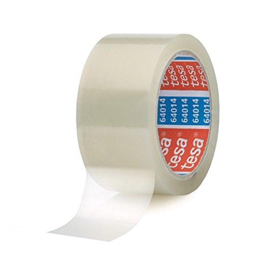 Tesa 6 Rollen Paketklebeband (66 m, 50 mm) transparent