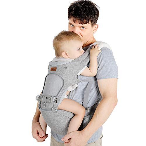 Laktiininen vauvakuljetuslaukku 3,5-20kg vastasyntyneelle 6 1-ergonomisessa vauvan kantolaitteessa kaikkina vuodenaikoina, CE-sertifikaatti