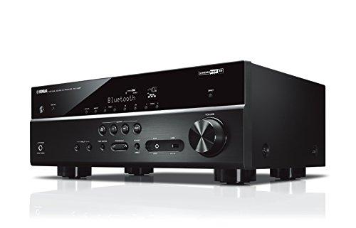 Yamaha RX-V485 MC AV-Receiver (Netzwerk-Receiver mit 5.1 Music Cast Surround-Sound - für die perfekte Heimkino-Unterhaltung – Kompatibel mit Alexa...
