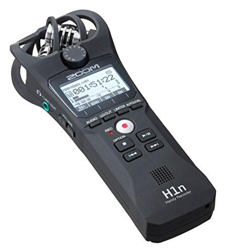 ZOOM H-1n/220GE Handy Recorder – Audio Aufnahmegerät (2 Spuren, X/Y-Mikrofone, unterstützt WAV und MP3, intuitive Bedienung, 1,25″ LCD-Display, bis zu 32GB SD,...