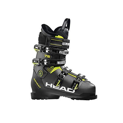 HEAD Herren Advant Edge 75 Skischuhe, Anthracite/Black/Yellow, 285