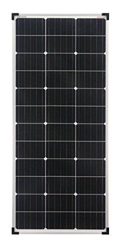 ownolar® Mono 100W monocrystalline solar panel 100Watt ideal for camper, garden house, boat (single pack)