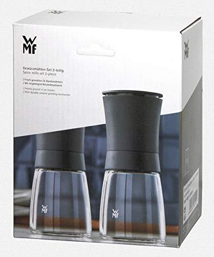 WMF Trend Gewürzmühlen-Set 2-teilig Keramikmahlwerk Salzmühle Pfeffermühle