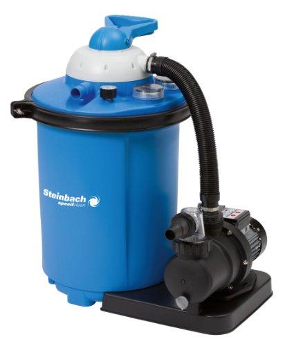 Steinbach Speed Clean Comfort 75 Sandfilteranlage, Umwälzleistung 8 m³/h, 230 V/550 Watt, Anschluss Ø 32/38 mm, 040100