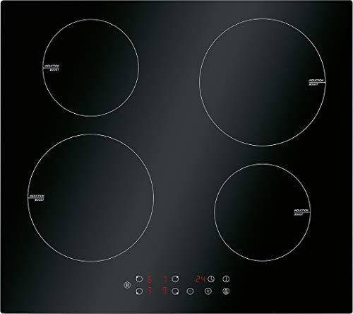 Bomann EBKI 961 Einbau-Induktionskochfeld / 60 cm / 4 Kochzonen / Touch Control / Timerfunktion / 9 Leistungsstufen