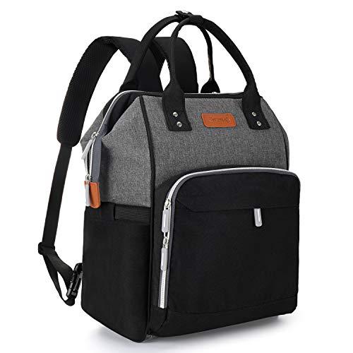 Vauvanvaihtoreppu-vaippalaukku, suuri kapasiteetti Carecj-monitoiminen vauvanreppu-matkaselkäreppu, jossa USB-latausportti, hoitopatja, tuttipullopussi, ...