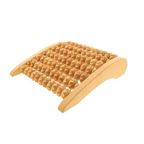 HOFMEISTER® Massage-Gerät aus Buchen-Holz, gegen Verspannungen & Schmerzen, Wellness & Entspannung für die Füße, Naturprodukt aus Europa, Fuss-Massage-Roller,...