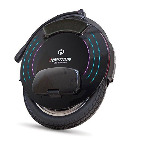 InMotion Unisex-Adult V10F Monowheel, schwarz, 52,85 x 62,35 x 15,85 cm