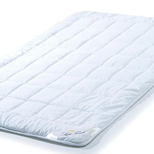 aqua-textil Soft Touch Ganzjahres Bettdecke 135 x 200 cm Steppdecke atmungsaktiv Decke Winter Sommer