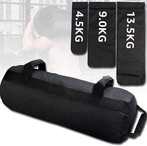 PELLOR 27kg Fitness-Gewichte Sandsäcke, Gewichtheben Tasche,Training Übung Dynamische Last Heavy Duty Workout Gym Sandsack für Funktionelle Krafttrainingsübungen...