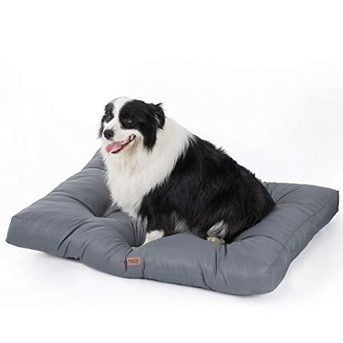 Bedsure Hundekissen für Große Hunde Wasserdicht XXL 110 x 90 cm - Gepolstert Hundematte Hundebett Waschbar Outdoor Geeignet