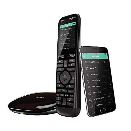 Logitech Harmony Elite Universalfernbedienung Für Kabelbox, Apple TV, fireTV, Alexa, Roku, Sonos und Smart Home-Geräten, Einfache Einrichtung mit App,...