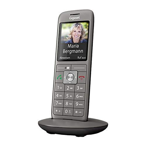 Gigaset CL660HX - DECT-Telefon schnurlos für Router - Fritzbox, Speedport kompatibel - hochwertiges Design-Telefon - großes Farbdisplay, anthrazit-metallic