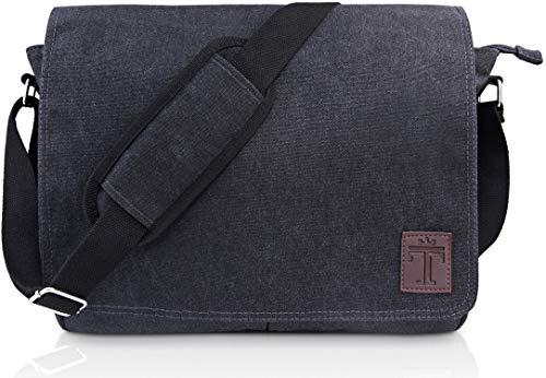 TRAVANDO ® Umhängetasche Herren Tasche Damen Arbeit Umhänge Arbeitstasche Aktentasche Laptoptasche Studententasche Messenger Bag Kuriertasche Herrentasche...