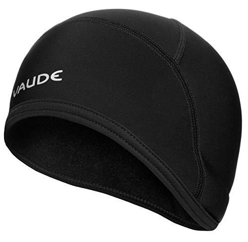 Vaude Bike Warm Cap, Helm-Unterziehmütze Mütze, Black Uni, L