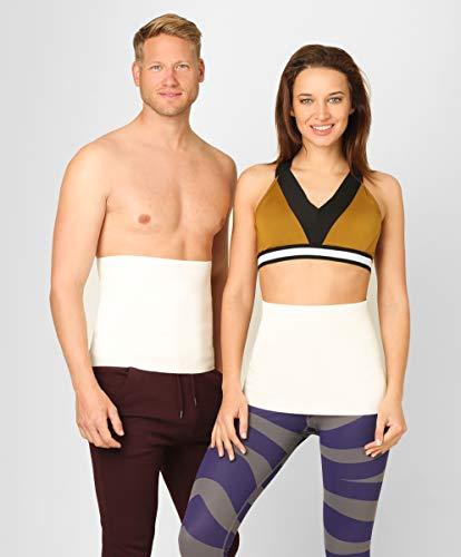 BeFit24 Nierenwärmer Medizinische Qualität aus Angora & Merino Wolle für Damen und Herren - Rückenwärmer - Rücken Wärmegürtel - Nierengurt - [ Size 2 ]