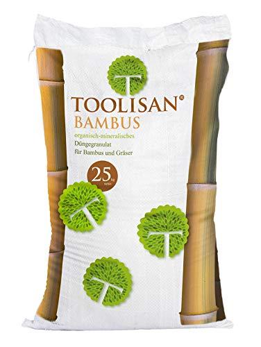Bambusdünger TOOLISAN mit Langzeitwirkung - 25 kg Sack*