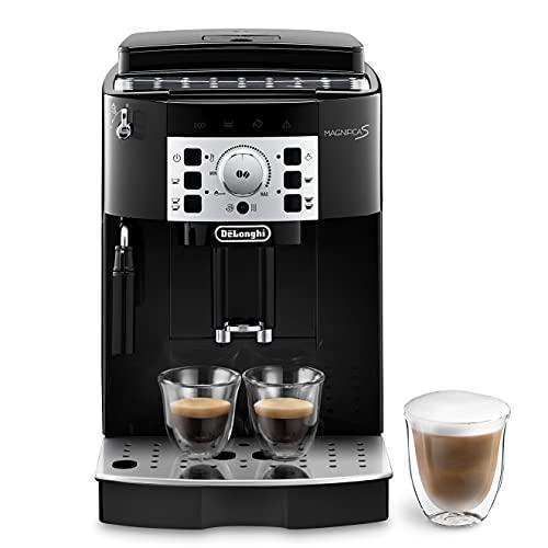 De'Longhi Magnifica S ECAM 22.110.B, Kaffeevollautomat mit Milchaufschäumdüse, EXKLUSIV BEI AMAZON, Direktwahltasten für Espresso und Kaffee, 2-Tassen-Funktion,...