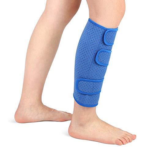 Wadenbandage muskelfaserriss, Kompressions Waden bandage Waden Kompression ohne fuß Neopren Unterschenkelbandage Verstellbar zur Linderung fester Waden,...