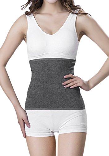 Winter Nierenwärmer Kaschmir Rückenwärmer Elastisch Taille Unterstützung Taille Wärmer Leibwärmer Wärmegürtel für Hexenschuss Rückenschmerzen...
