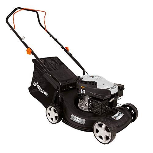 DELTAFOX petrol lawn mower - 4-stroke engine RATO RV125-127,1 cm³ displacement - 400 mm cutting width - 40l grass bag - 0,8 l petrol tank