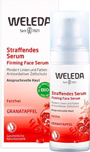 WELEDA-granaattiomenan kiinteyttävä seerumi, luonnonkosmetiikan hoitotiiviste solujen uudistumiseen ja ryppyjä vastaan, kosteuttaa kasvojen kuivaa ihoa (1 x ...