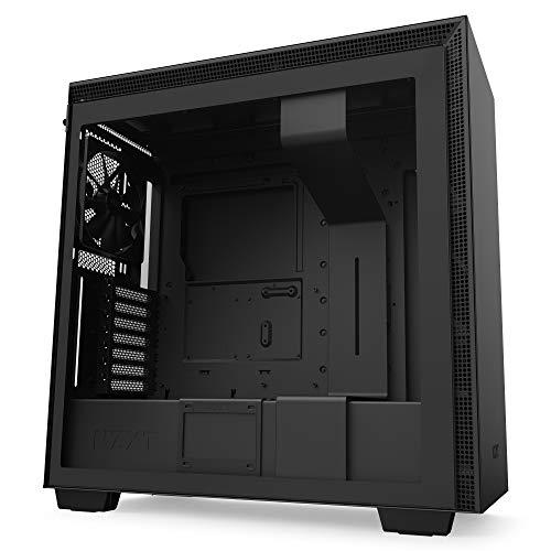 NZXT H710 - ATX-Mid-Tower-Gehäuse für Gaming-PCs - Front I/O USB Type-C Port - Tempered Glass-Seitenfenster mit Schnellspanner -Für Wasserkühlung nutzbar -...