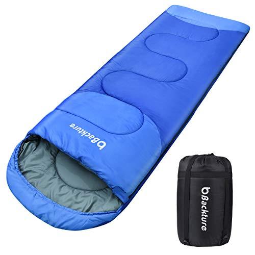 Sotical Schlafsack, Deckenschlafsack 1.0 kg Leichtgewicht Warm Outdoor 100% Baumwollhohlfaser für Camping,Wandern,sonstige Aktivitäten im Freien im 4-Jahreszeiten...