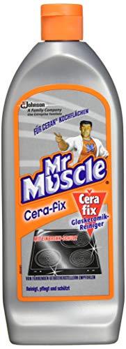Mr Muscle Cera-fix Glaskeramik Reiniger, für strahlend saubere Ceran-Kochfelder,, 1er Pack (1 x 200 ml)