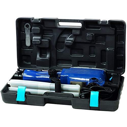 Einhell Abbruchhammer BT-DH 1600/1 (1600 W, 1800 1/min Schlagzahl, 43 J Schlagstärke, Sechskantaufnahme, Zusatzhandgriff, inkl. 2 Meißel und Koffer)