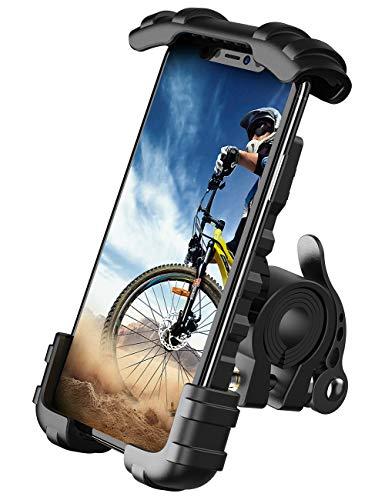 Lamicall Handyhalterung Fahrrad, Handyhalter Motorrad - Edelstahl Universal 360 Grad Drehung Outdoor Fahrrad Halter für Phone 11 Pro Max, Xs Max, XR, X, 8, 7, 6S,...