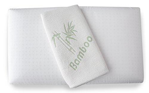 Dormouse-ortopedinen niskatuki - tyyny, joka on valmistettu paineentasauttavasta viskogeelivaahdosta (muistivaahto), bambupeitteellä - tyyny 72x42cm - korkeus ...
