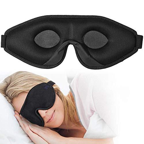 OriHea 3D -naamiohimo naiset ja herrat, premium-makuusuojalasit, joissa innovatiivinen piilotettu sierainrakenne, estetty kevyt 100 -silmämaski, ...
