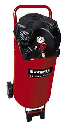 Einhell 4010393 Kompressor TH-AC 240/50/10 OF (1500 W, 240 l/min Ansaugl., 50 l Kessel, 10 bar max. Betriebsdruck, öl- und wartungsarm, Druckminderer, Manometer)