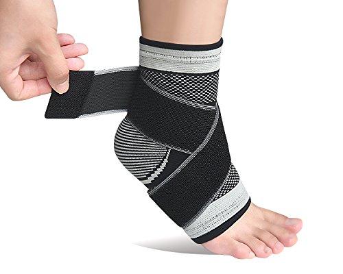 Plantarfasziitis-Socke mit Fußgewölbeunterstützung, lindert Schwellungen, Bandage für Achillessehne und Knöchel, effektive Linderung von Gelenk- und...