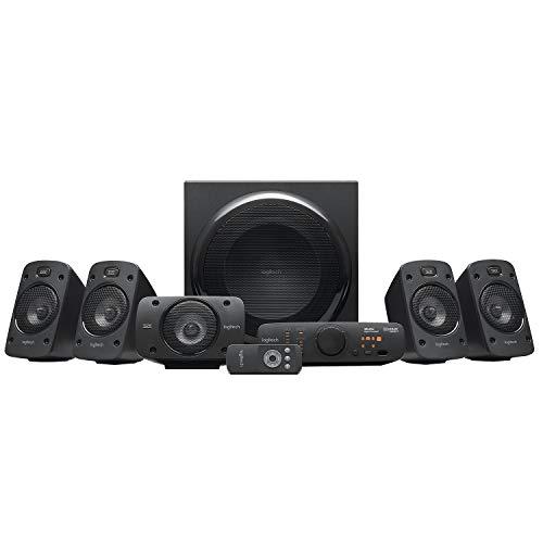 LogitechZ9063D-Stereo-Lautsprecher, schwarz