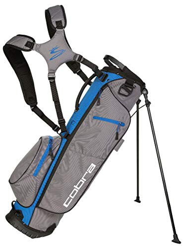 Cobra Megalite Stand Bag/Golfbag grau/blau Puma Golftasche, Farbe:grau blau