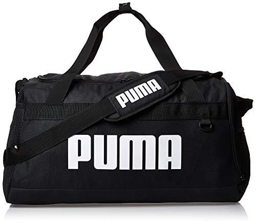 PUMA Unisex - Adult Challenger Duffel Bag M Sports Bag, Black, OSFA