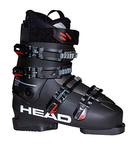 HEAD Herren FX GT Skischuhe, schwarz/rot, 28.5 | EU 45