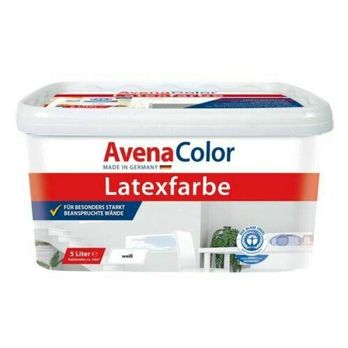 AvenaColor latex silk gloss interior color 5L white
