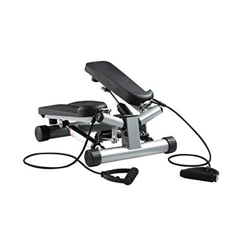 zoomyo Peak Power Up-Down/Swing Stepper, kompaktes Fitnessgerät für zuhause, ideal zum Trainieren von Rücken, Beinen, Po