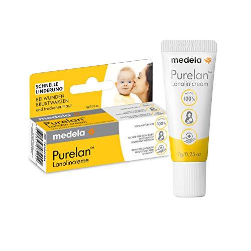 Medela Purelan nänni voide, 7 g, lanoliinivoide, nopea helpotus kipeille nänneille ja kuivalle iholle
